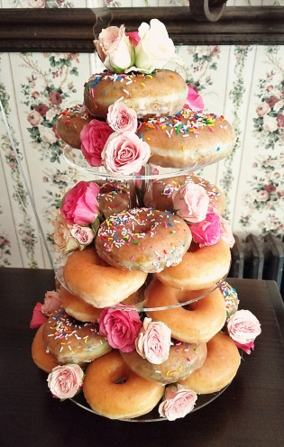 donut tower!
